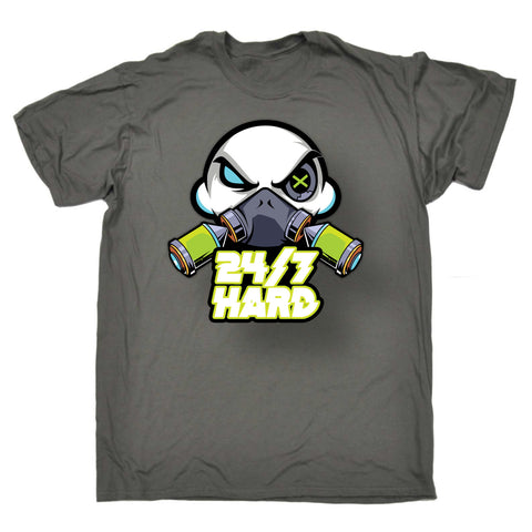 24/7 Hard Skull Men's T Shirt - 24/7 Hardcore