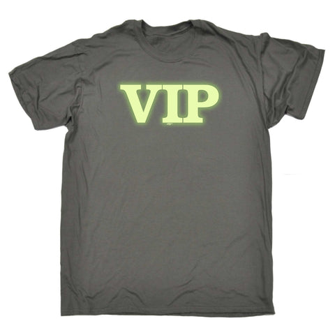 123t Funny Tee - Vip Glow In The Dark - Mens T-Shirt