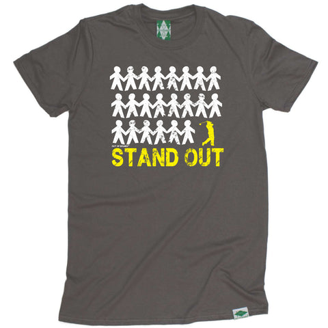 Out Of Bounds Golfing Tee - Stand Out Golf - Mens T-Shirt
