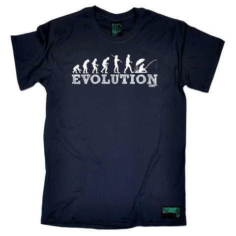 Drowning Worms Fishing Tee - Evolution Fishing - Mens T-Shirt