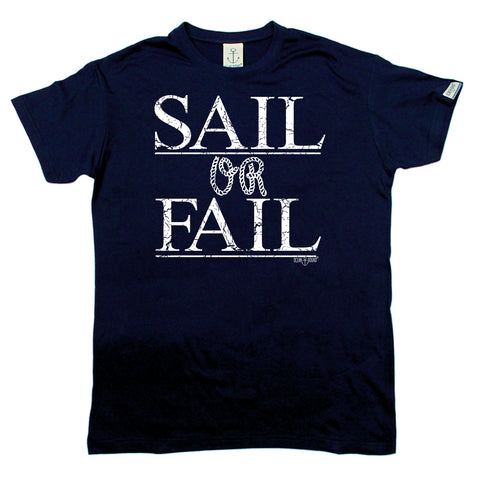 Ocean Bound Sailing Tee - Sail Or Fail - Mens T-Shirt