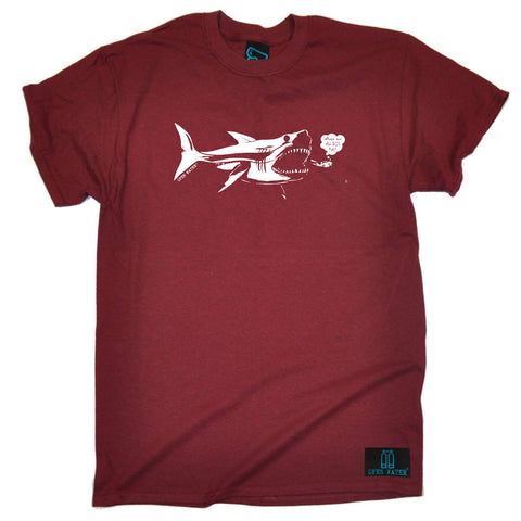 Open Water Scuba Diving Tee - Where Are The Big Fish - Mens T-Shirt