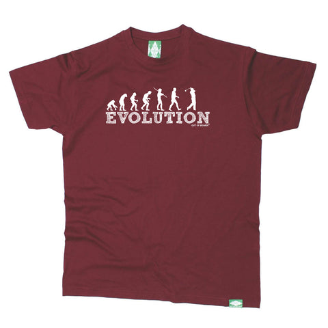 Out Of Bounds Golfing Tee - Evolution Golf - Mens T-Shirt