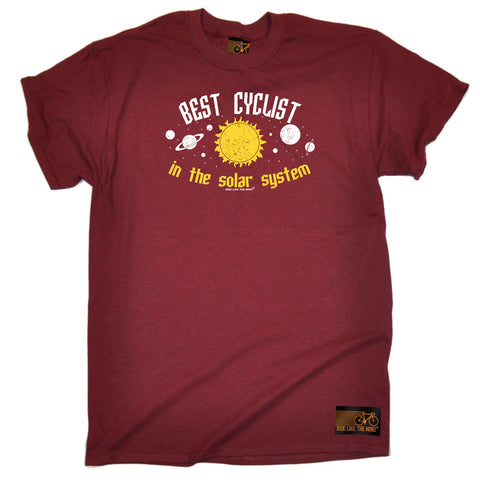 Ride Like The Wind Cycling Tee - Best Cyclist In The Solar System - Mens T-Shirt