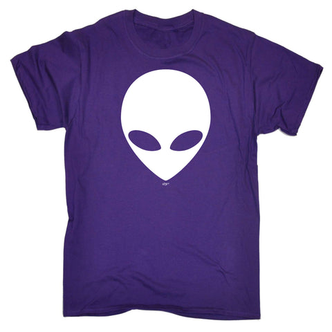 123t Kids Funny Tee - Alien Head - Childrens Top T-Shirt T Shirt