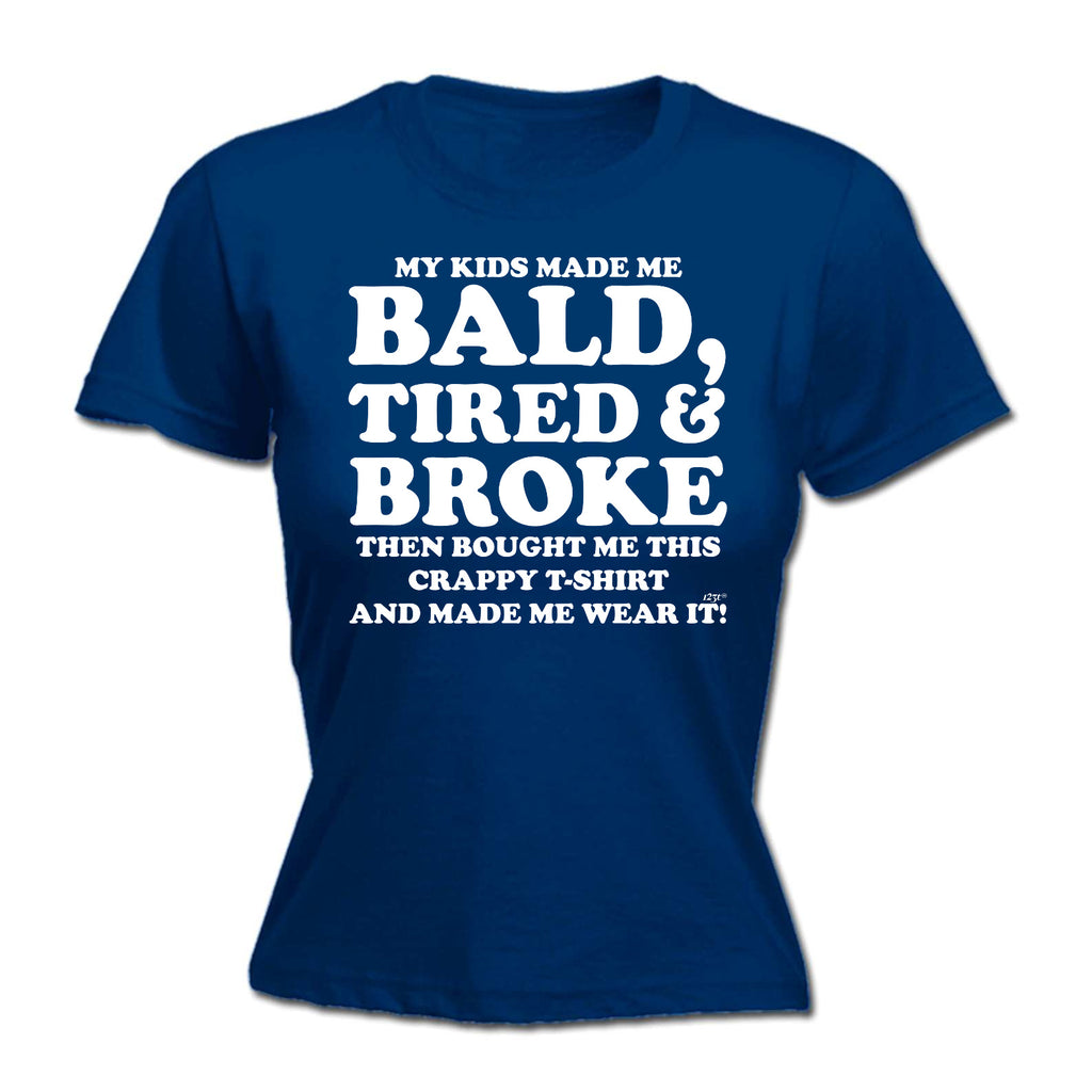 123t - Bald Tired And Broke -  HOODIE
