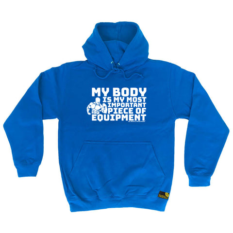 Sex Weights and Protein Shakes Gym Bodybuilding Tee - My Body Is My Most Important Piece Of Equipmen -  Womens Fitted Cotton T-Shirt Top T Shirt