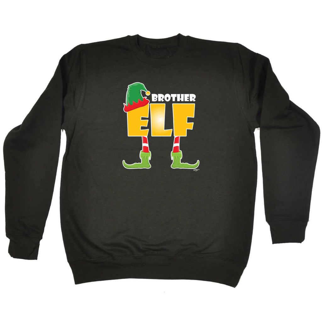 123t Funny Sweatshirt - Elf Brother - Sweater Jumper