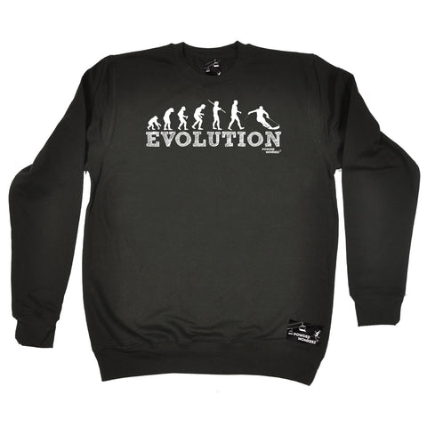 Powder Monkeez Skiing Snowboarding Sweatshirt - Ski Evolution Skiing - Sweater Jumper