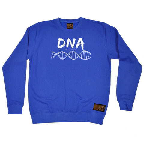 Ride Like The Wind Cycling Sweatshirt - Dna Chain - Sweater Jumper