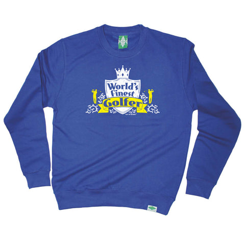Out Of Bounds Golfing Sweatshirt - Worlds Finest Golfer - Sweater Jumper