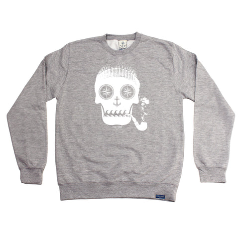 Ocean Bound Sailing Sweatshirt - Skull Of The Sea - Sweater Jumper