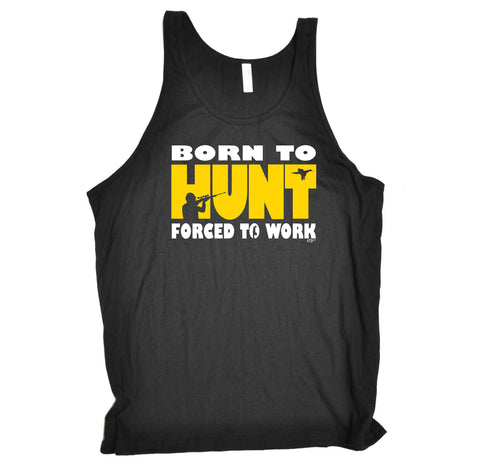123t Funny Vest - Born To Hunt Hunting - Bella Singlet Top