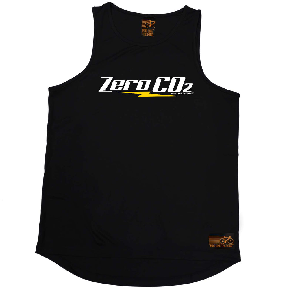 Ride Like The Wind Cycling Vest - Zero Co2 - Dry Fit Performance Vest Singlet