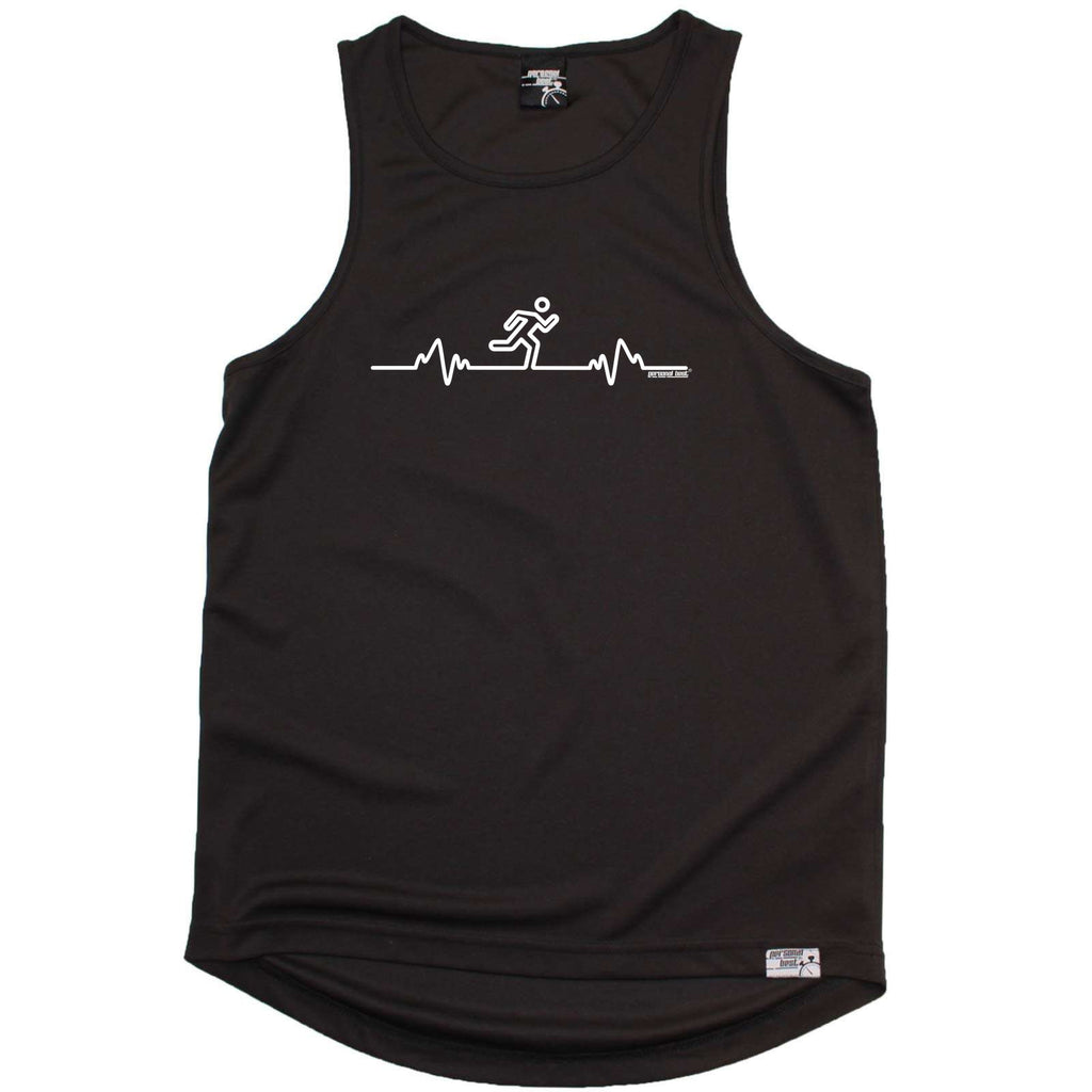 Personal Best Running Vest - Running Pulse - Dry Fit Performance Vest Singlet