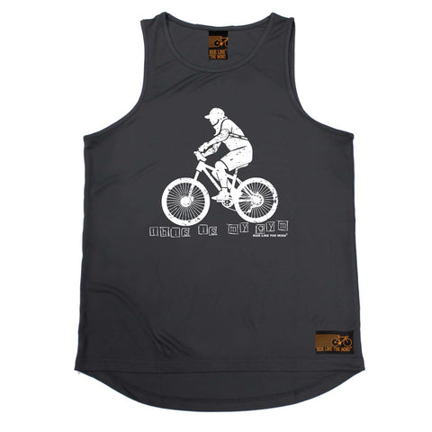 Ride Like The Wind Cycling Vest - This Is My Gym - Dry Fit Performance Vest Singlet