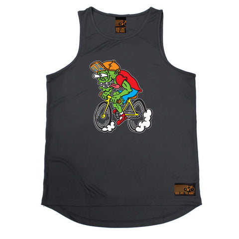 Ride Like The Wind Cycling Vest - Weirdo Cyclist - Dry Fit Performance Vest Singlet