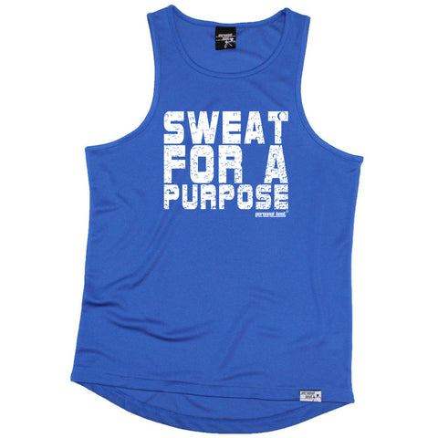 Personal Best Running Vest - Sweat For A Purpose - Dry Fit Performance Vest Singlet