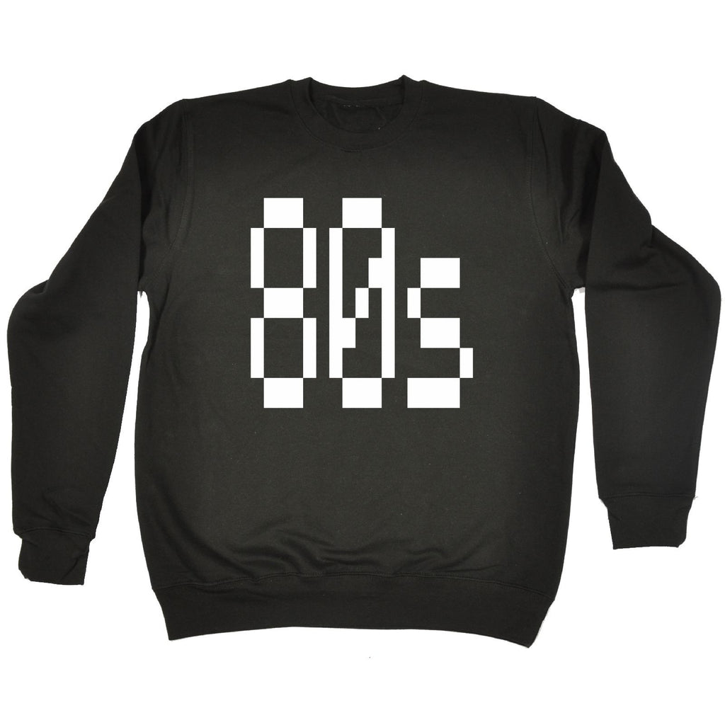 123t 80s Eighties Funny Sweatshirt - 123t clothing gifts presents
