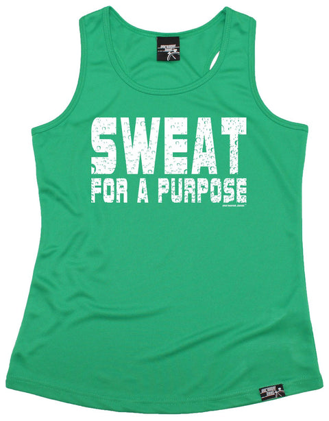 Personal Best Sweat For A Purpose Running Girlie Training Vest