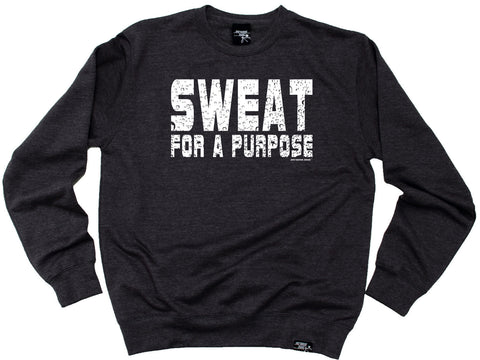 Personal Best Sweat For A Purpose Running Sweatshirt