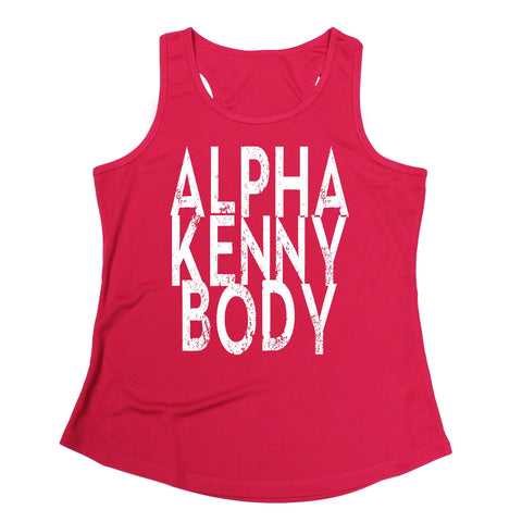 123t Alpha Kenny Body Funny Girlie Training Vest - 123t clothing gifts presents