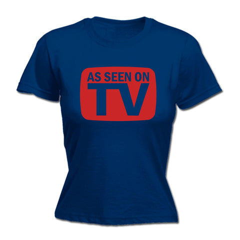 123t Women's As Seen On TV Funny T-Shirt