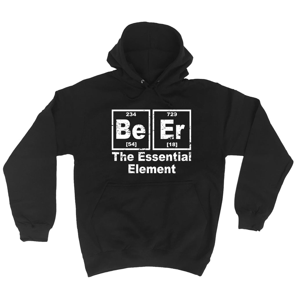 123t Beer The Essential Element Funny Hoodie