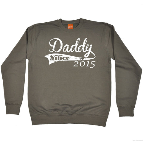 123t Daddy Since 2015 Funny Sweatshirt - 123t clothing gifts presents