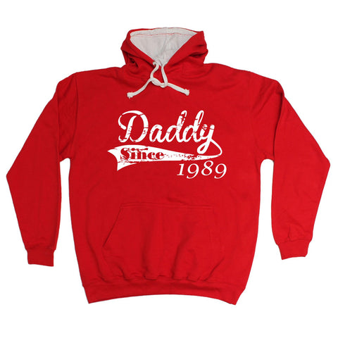 123t Daddy Since Any Year Personalisation Funny Hoodie - 123t clothing gifts presents