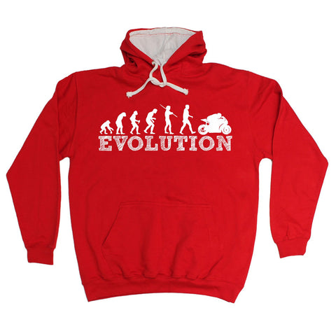 123t  Evolution Superbike - HOODIE Funny Christmas Casual Birthday Hoody, 123t