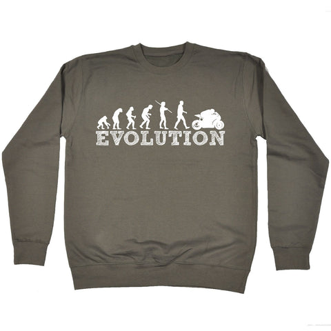 123t  Evolution Superbike - SWEATSHIRT Funny Christmas Casual Birthday Top, 123t