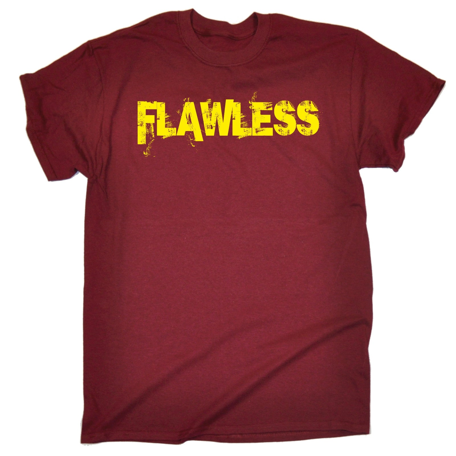 Flawless T SHIRT Perfection Slogan Hipster Urban Street