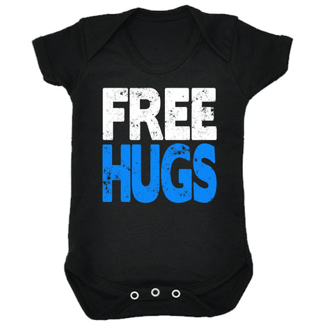 123t Baby Free Hugs Funny Babygrow - 123t clothing gifts presents