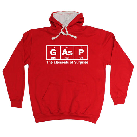 123t Gasp The Elements Of Surprise Funny Hoodie