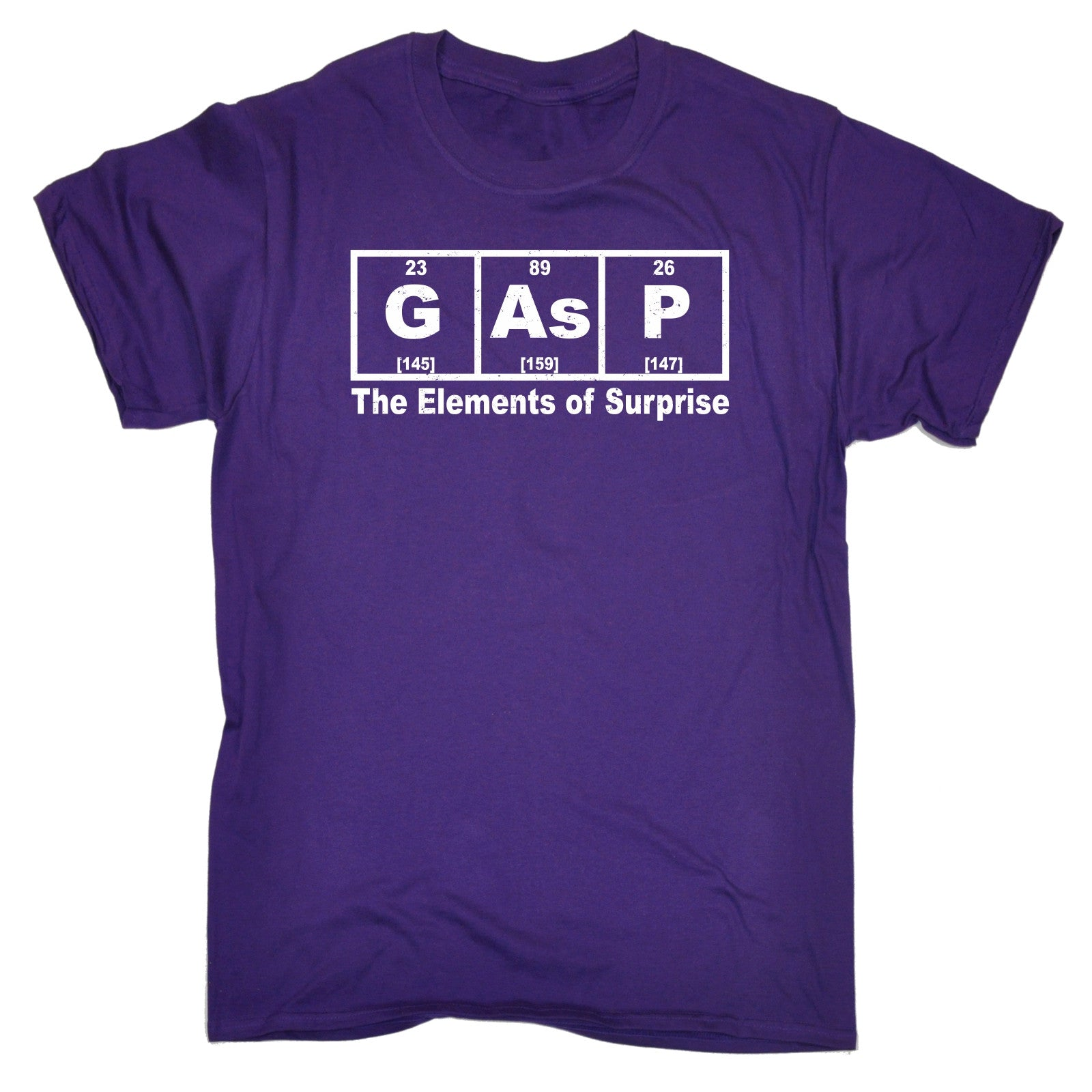 Gasp the elements of surprise t shirt science periodic table geek gasp the elements of surprise t shirt science urtaz Choice Image