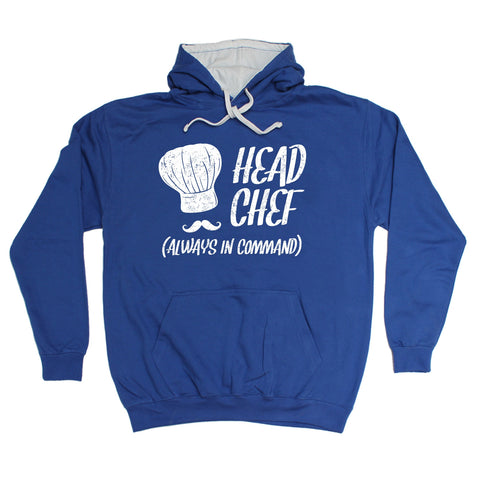 123t Head Chef Always In Command Funny Hoodie