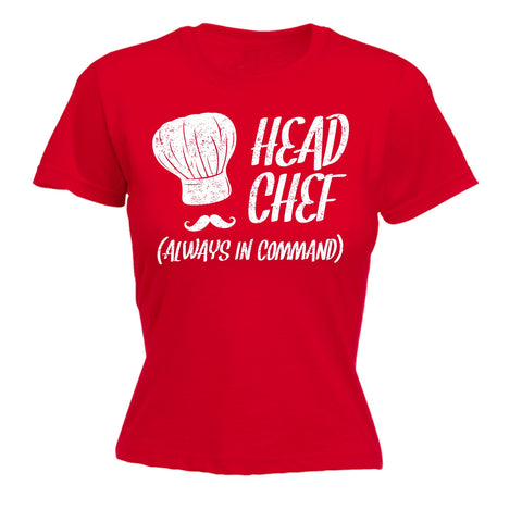 123t Women's Head Chef Always In Command Funny T-Shirt