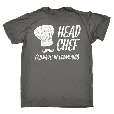 123t Men's Head Chef Always In Command Funny T-Shirt