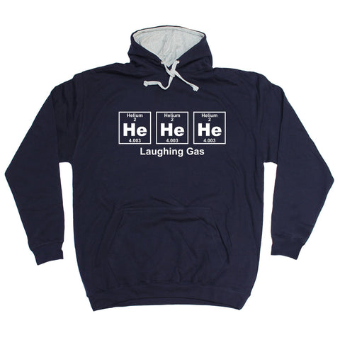 123t He He He Laughing Gas Periodic Design Funny Hoodie