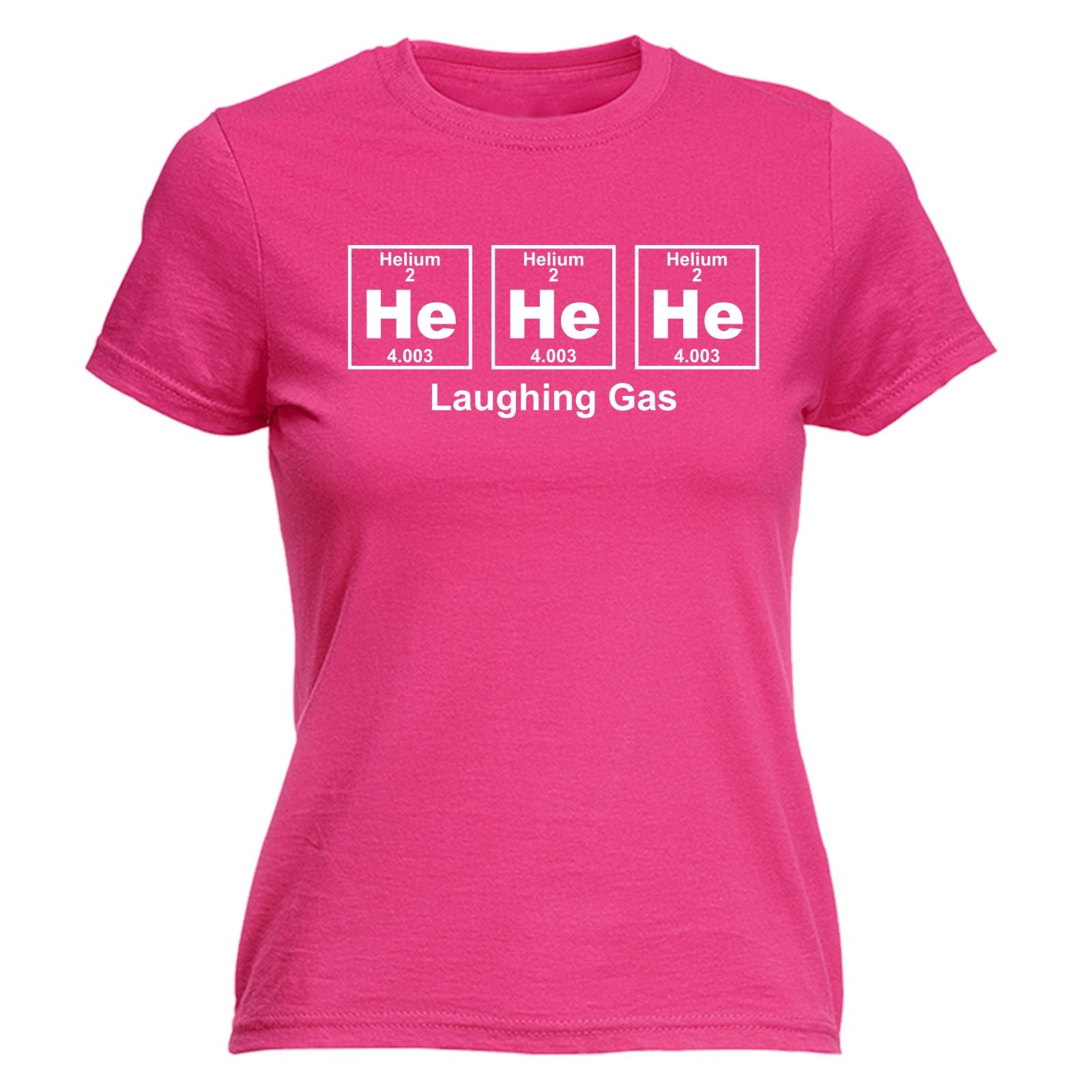 Design t shirt birthday - He He Laughing Gas Periodic Design Womens T