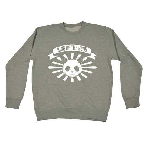 123t  King Of The Hood Panda - SWEATSHIRT, 123t
