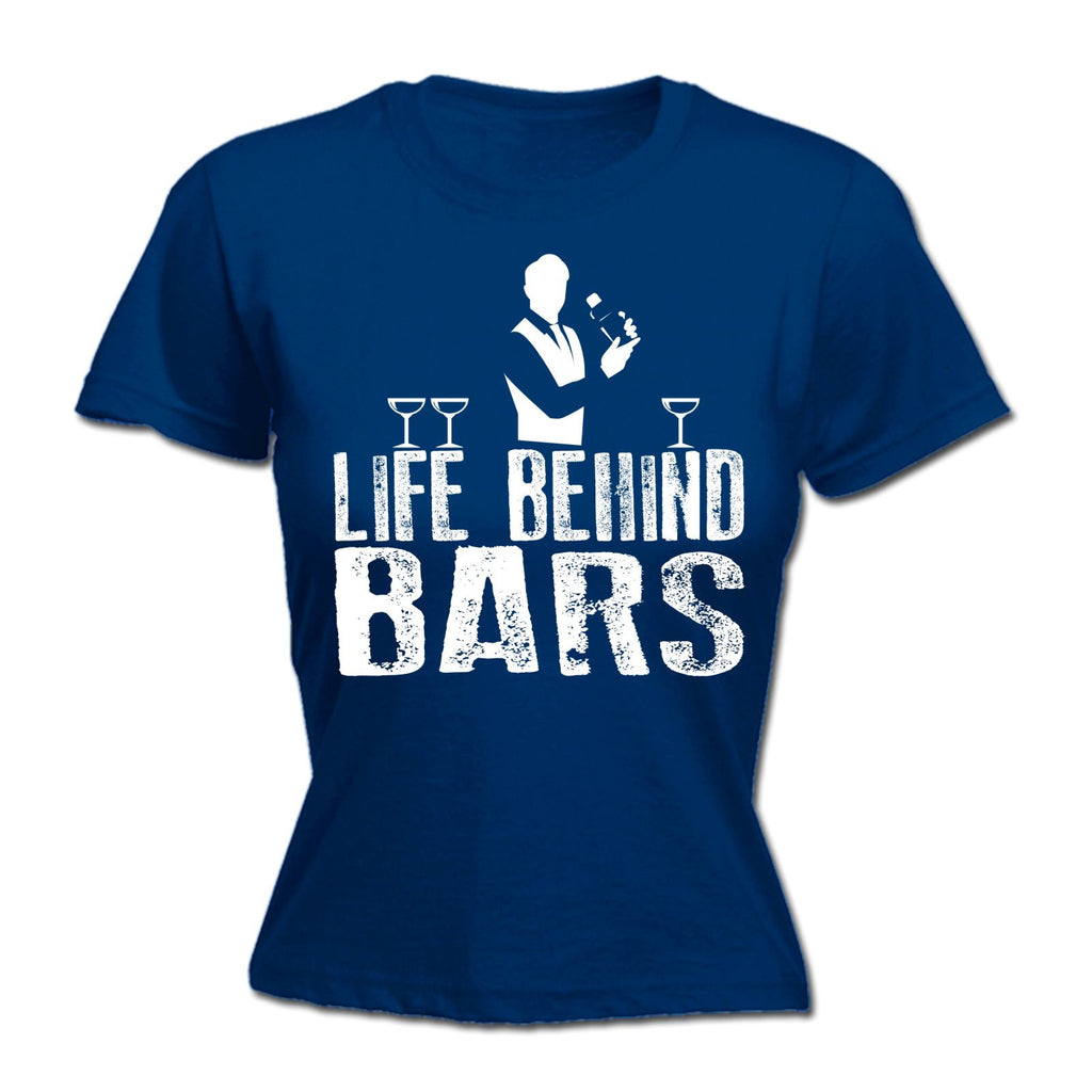 6c18a8a25 Buy 123t Women's Life Behind Bars Bartender Funny T-Shirt at 123t T ...