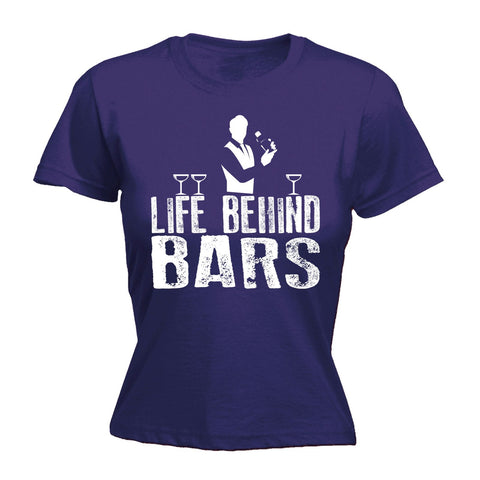 123t Women's Life Behind Bars Bartender Funny T-Shirt