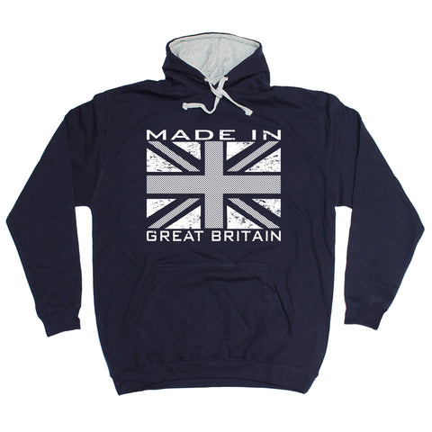 123t Made In Great Britain Flag Funny Hoodie