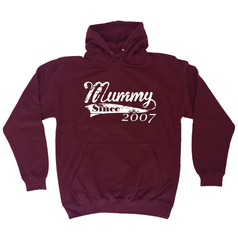 123t Mummy Since Any Year Personalisation Funny Hoodie