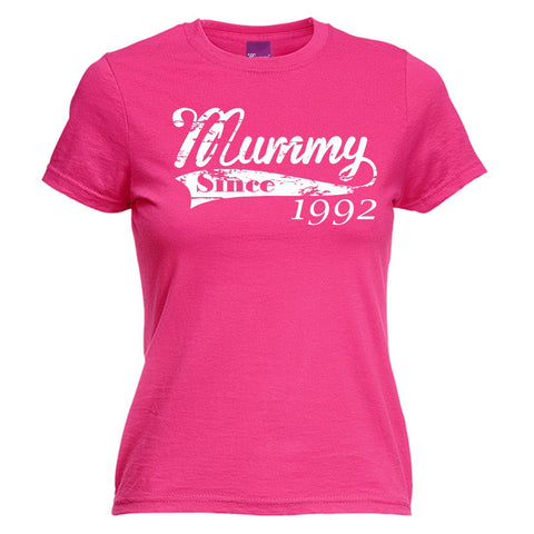 123t Women's Mummy Since Any Year Personalisation Funny T-Shirt