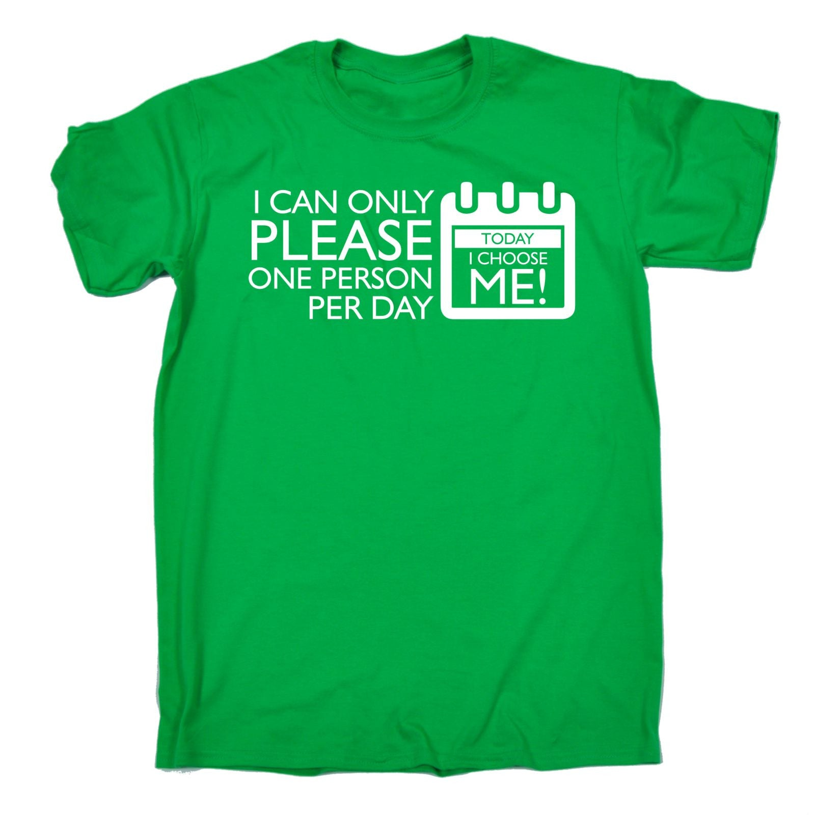 i can only please one person per day t shirt grumpy funny