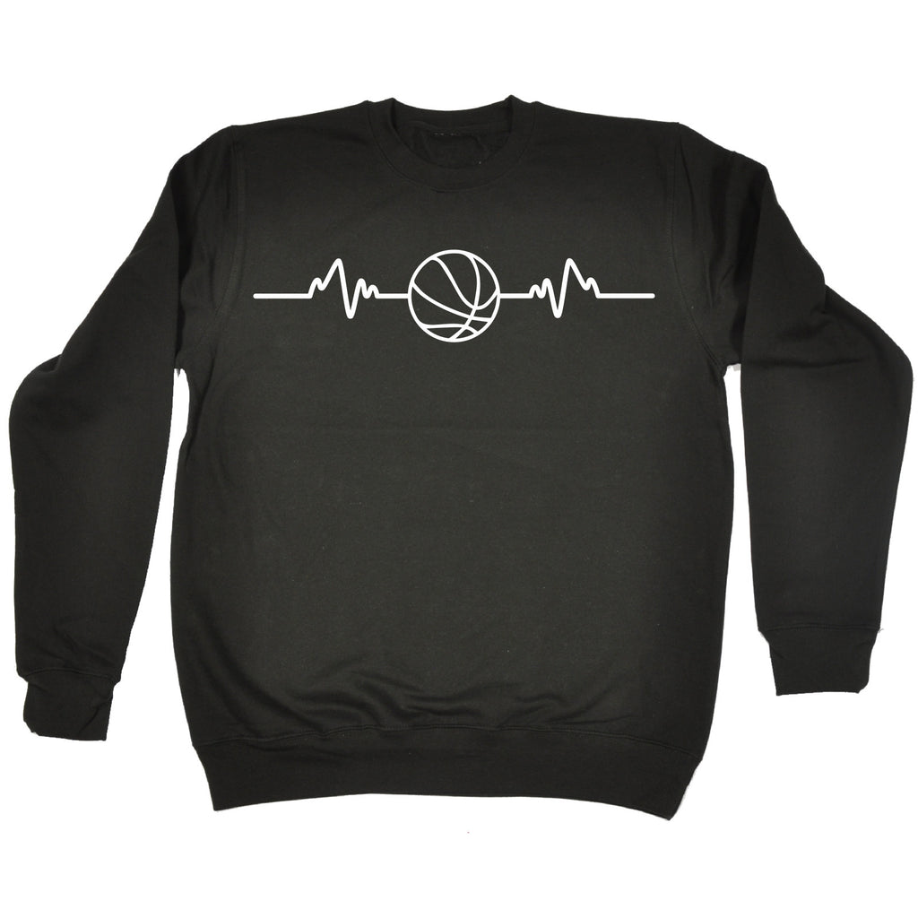 123t Basketball Pulse Funny Sweatshirt