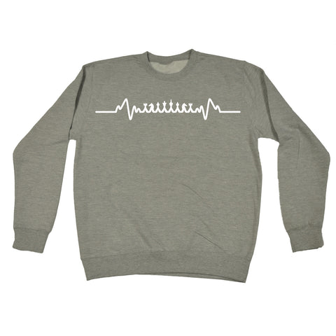 123t Chess Pulse Funny Sweatshirt